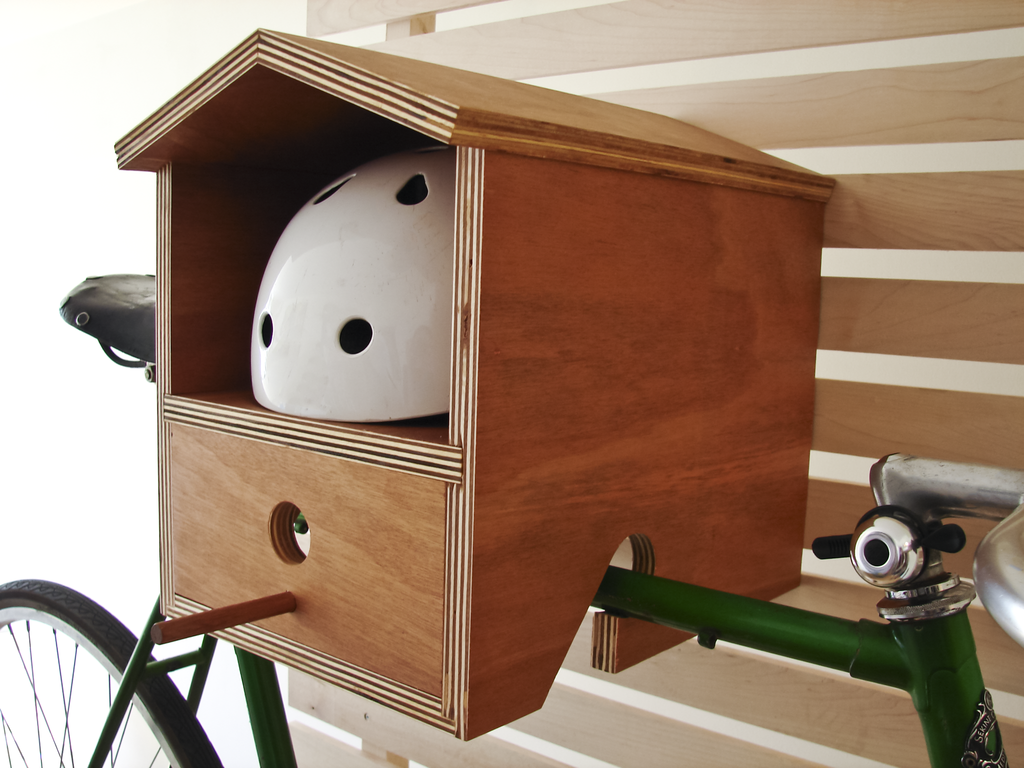 Bike Rack Birdhouse 1