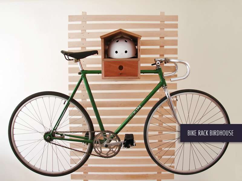 Bike Rack Birdhouse 2