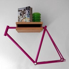 Das Fahrradregal