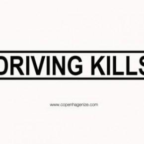Driving kills!