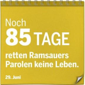 Ramsauers Parolen retten keine Leben!