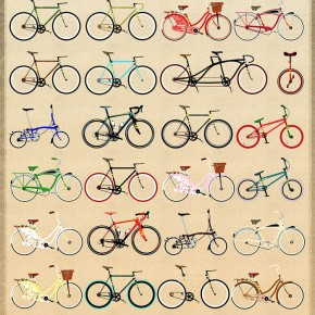 The Beautiful Bicycle Print