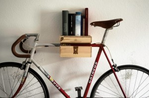 Weinkiste it started with a fight - Fahrrad wandhalterung holz ...