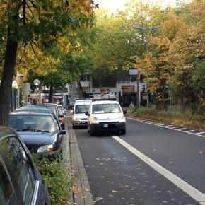 Hamburgs Radfahrer sollen auf die Straße