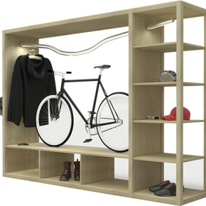 Bike Shelf by vadolibero