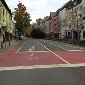 Die neue Dielingerstraße in Osnabrück