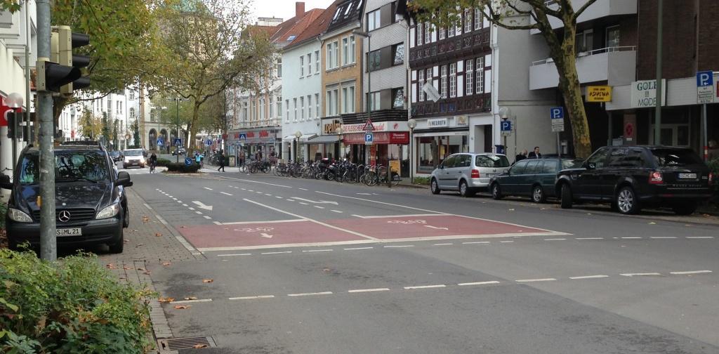 Dielingerstraße Beginn Trennung