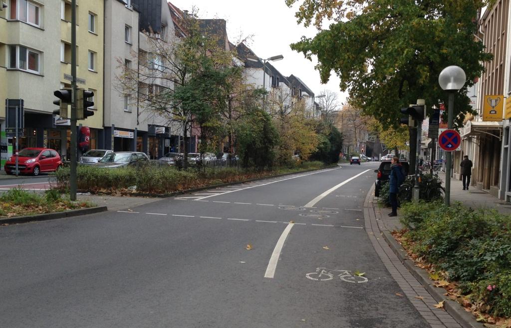 Dielingerstraße Fortführung Trennung