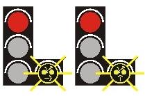 anhalten als radfahrer bei rot