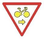 Grüner Pfeil für Radfahrer