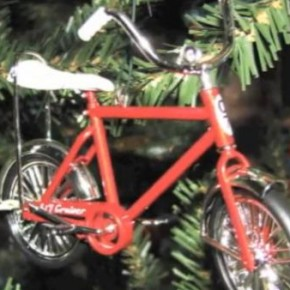 Big Red Bicycle Christmas