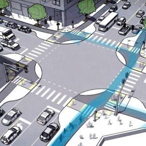 Perfekte Kreuzung für Radfahrer?