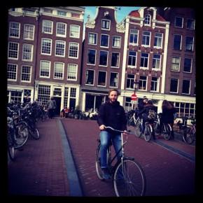 Mit dem Fiets durch Amsterdam