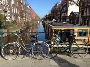Amsterdam unsere Fahrräder