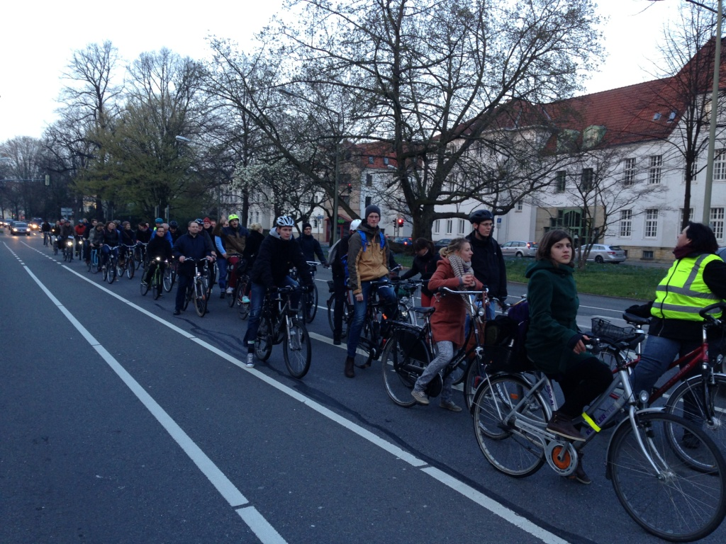 Critical Mass März 2