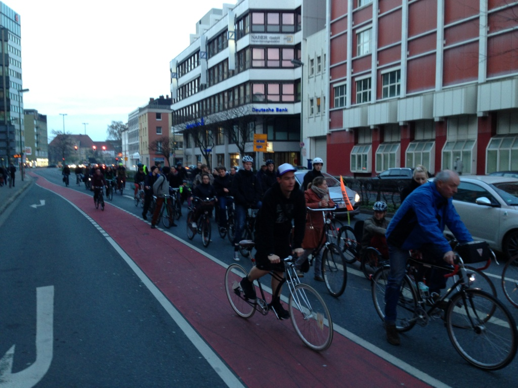 Critical Mass März 5
