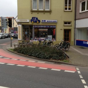 Osnabrück: Stadt will kein Ghost Bike am Wall