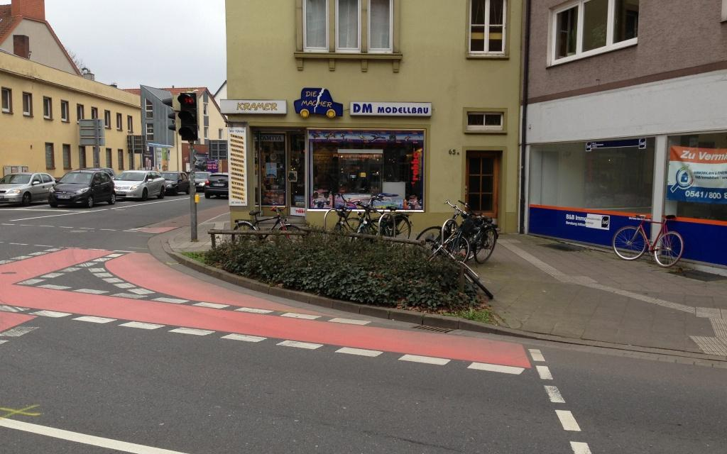 Kreuzung Kommenderiestraße 1