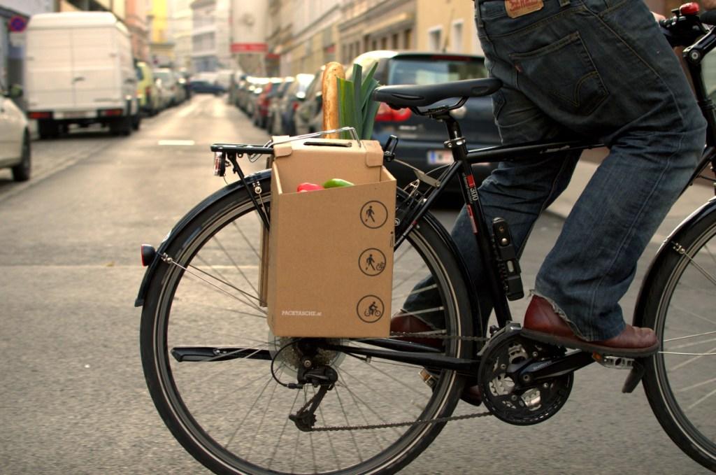 Packtasche Fahrrad Profil