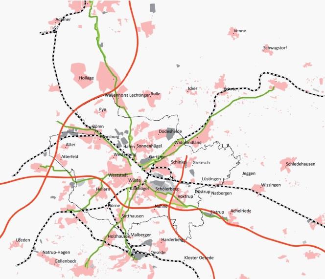 Radschnellwege Osnabrücker Land