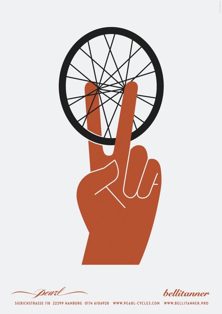 bellitannerpearl plakat peacewheel