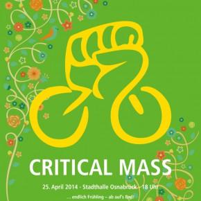 [Termin] Critical Mass April
