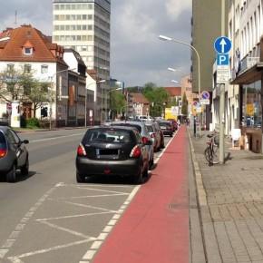 Osnabrück will den Wall für Radfahrer sicherer machen