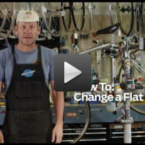 Reifenwechsel mit Lance Armstrong