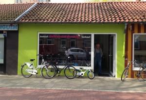 Fahrrad-Kiosk