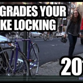 Hal Grades Your Bike Locking