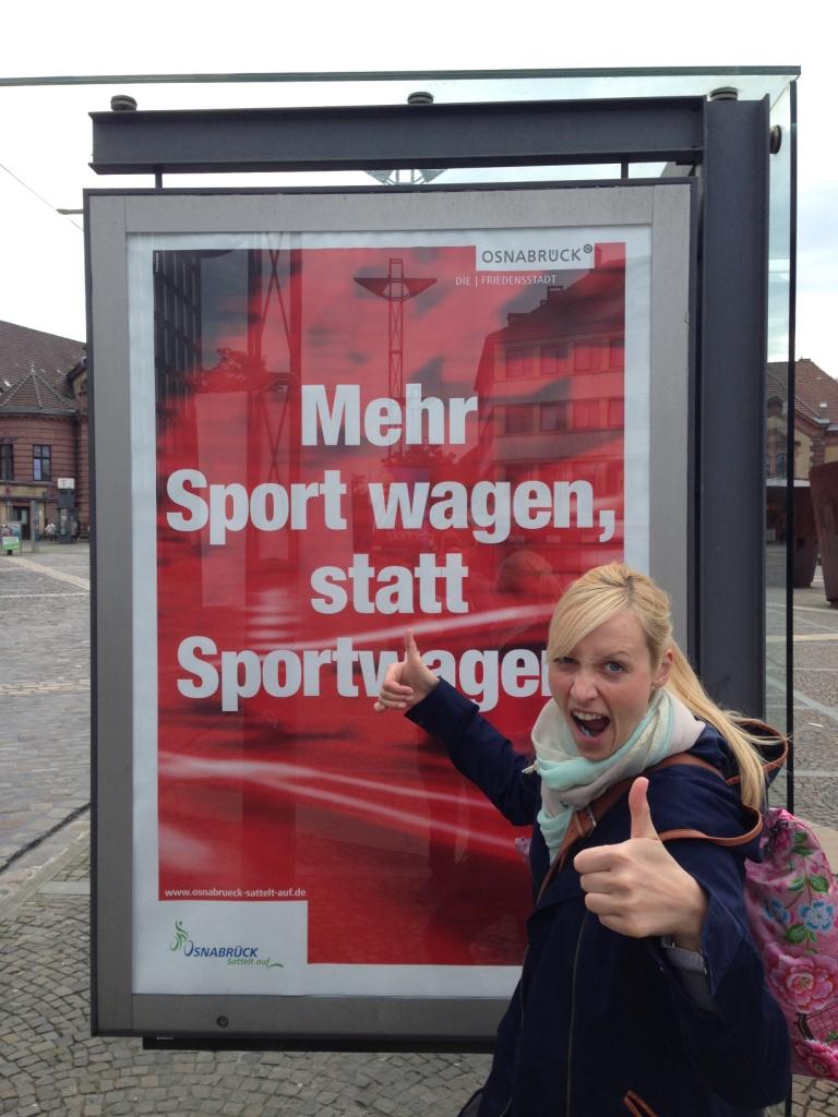 Mehr Sport wagen