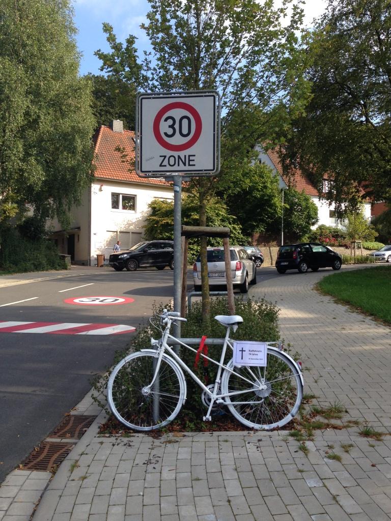 Ghost Bike Bohmter Straße 4