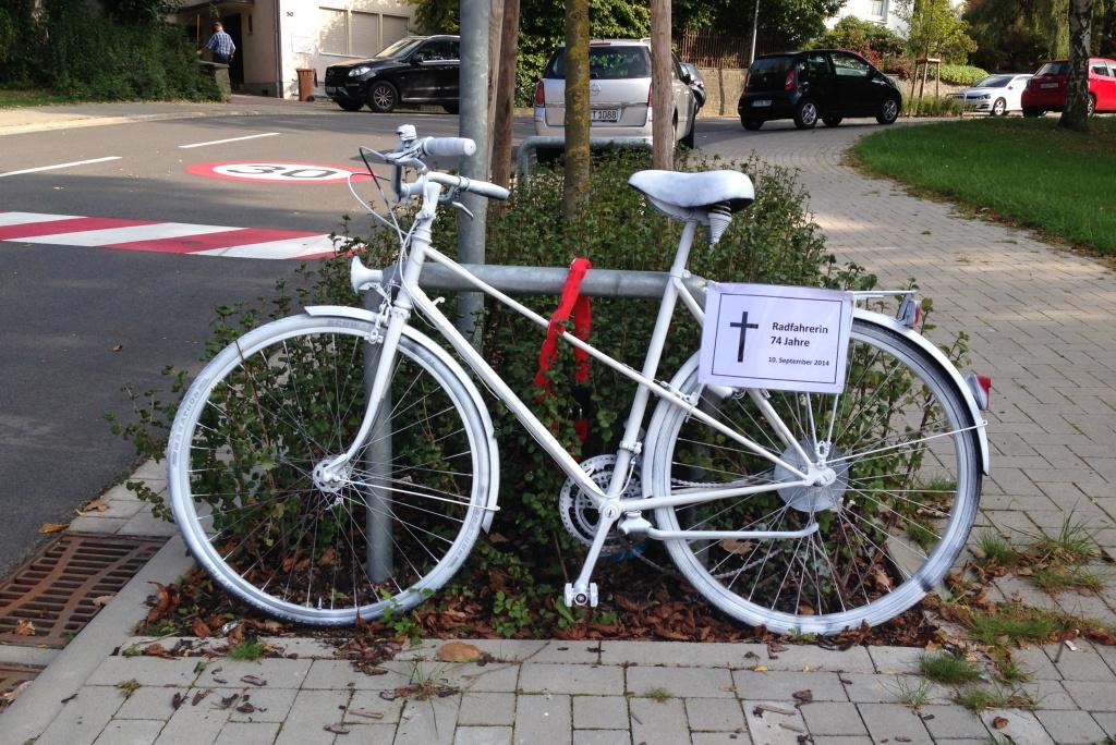 Ghost Bike Bohmter Straße 5