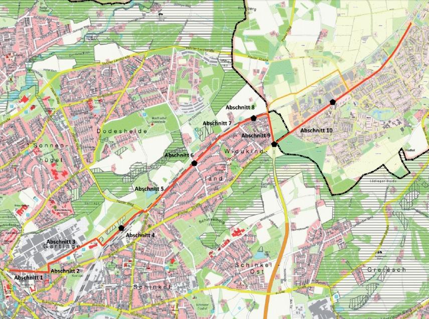 Radschnellweg Osnabrück-Belm