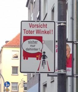 Kommenderiestraße Schild 2