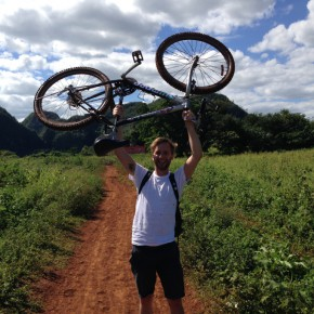 Mit dem Fahrrad durchs Valle de Viñales
