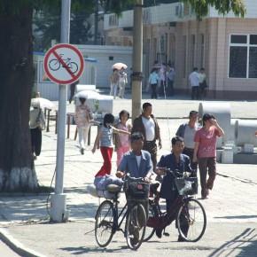 Radverkehr in Nordkorea
