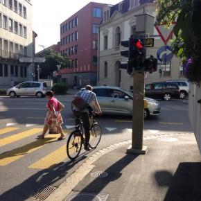 Basel: Pilotversuch für fahrradfreundliche Lichtsignalanlagen erfolgreich abgeschlossen