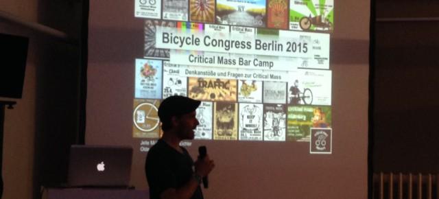 Critical Mass Bar Camp Berlin