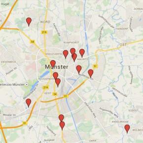 Münster: Getötete Radfahrer seit 2009