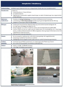Quelle: Sicher geradeaus! Leitfaden zur Sicherung des Radverkehrs vor abbiegenden Kfz Senatsverwaltung für Stadtentwicklung und Umwelt Berlin