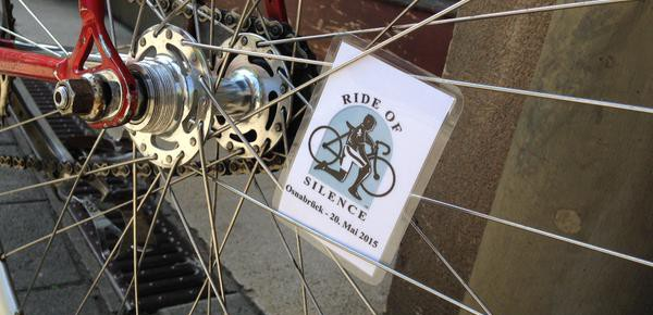 Ride of Silence 2015 in Osnabrück