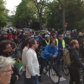 Ride of Silence 2015 in Deutschland