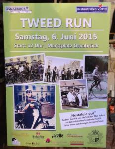 Tweed Run 2015 Poster