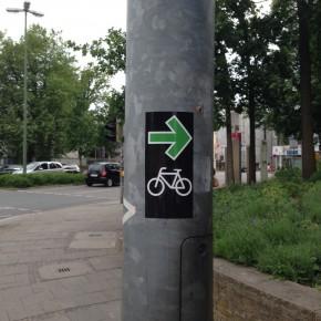 Kein Grünpfeil für Radfahrer in Deutschland