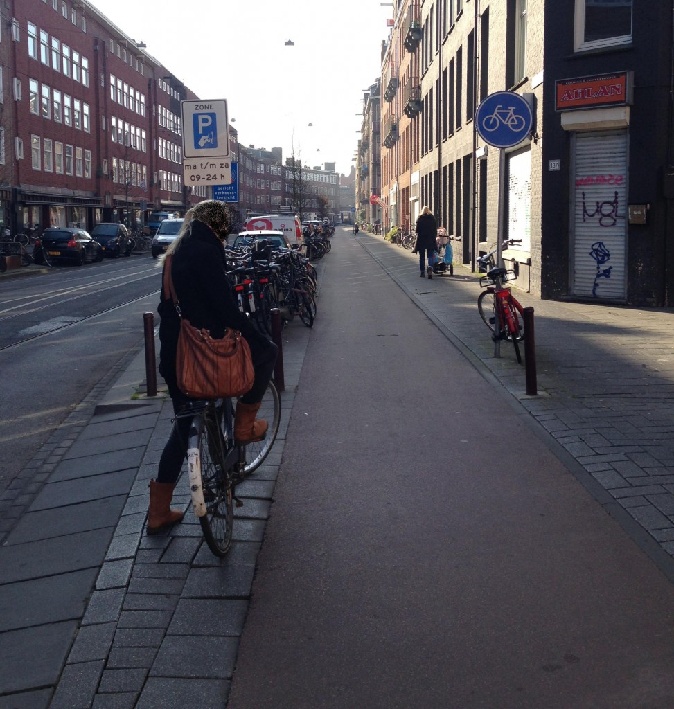 Hier ein Beispiel aus Amsterdam. Foto: dd