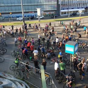 Critical Mass bei Instagram