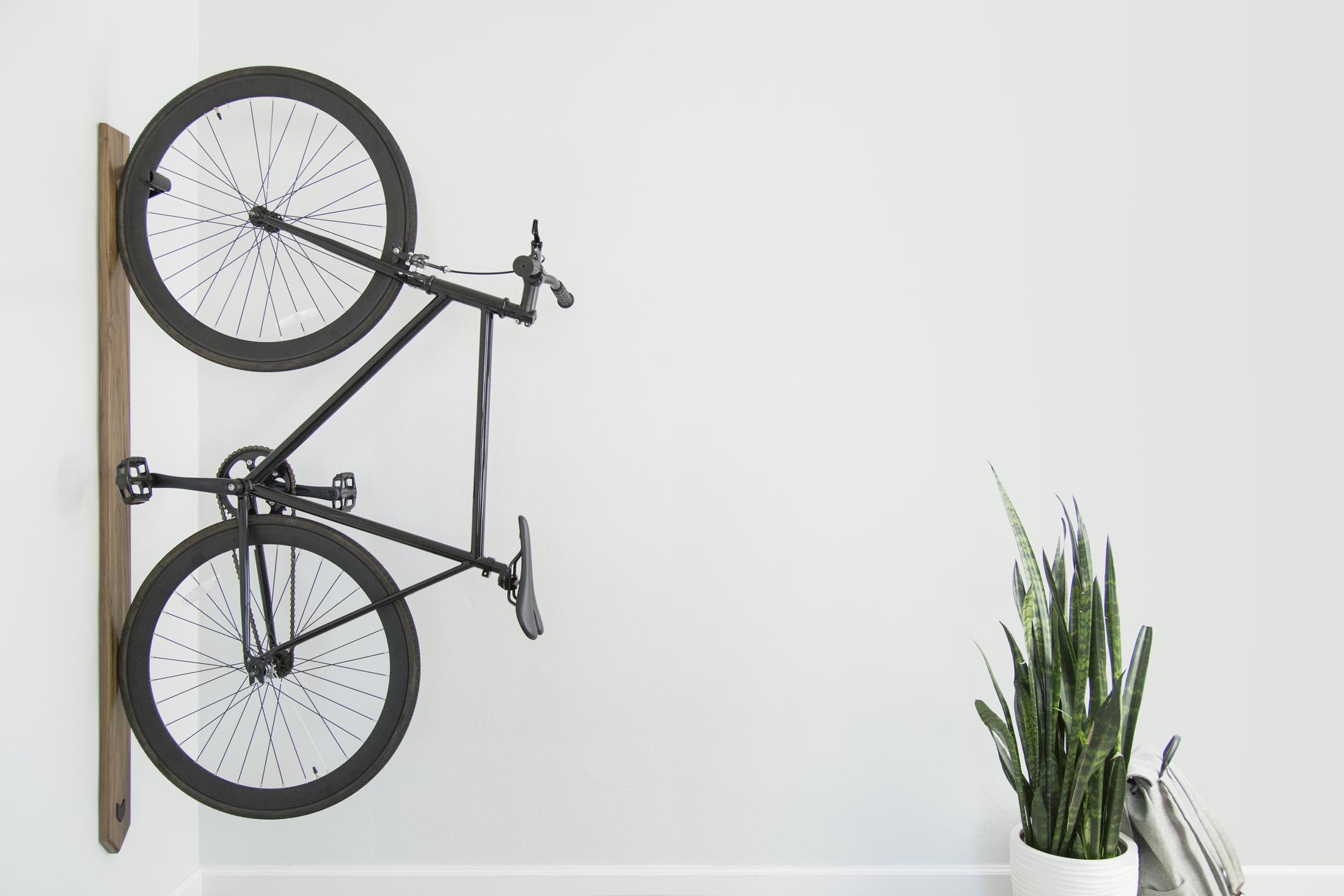 Artifox rack it started with a fight - Bike storage for small spaces image ...