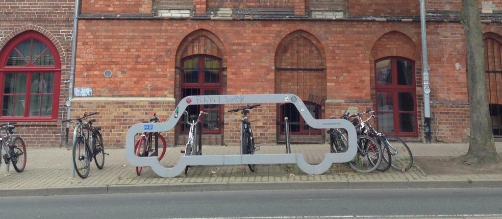 Rostock Fahrradbügel