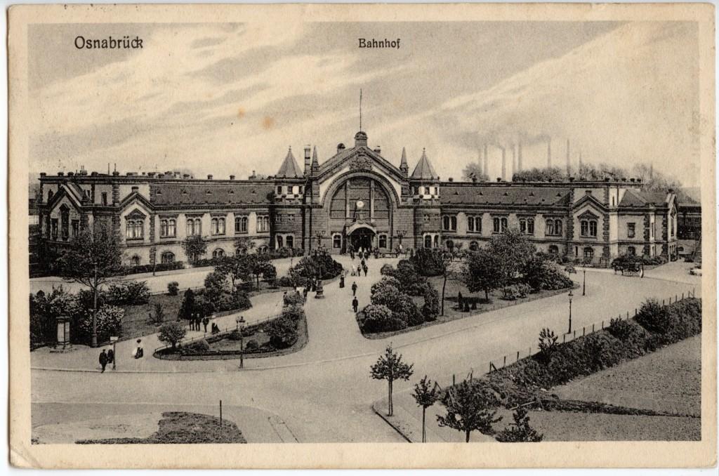 Osnabrück, Hauptbahnhof 1917